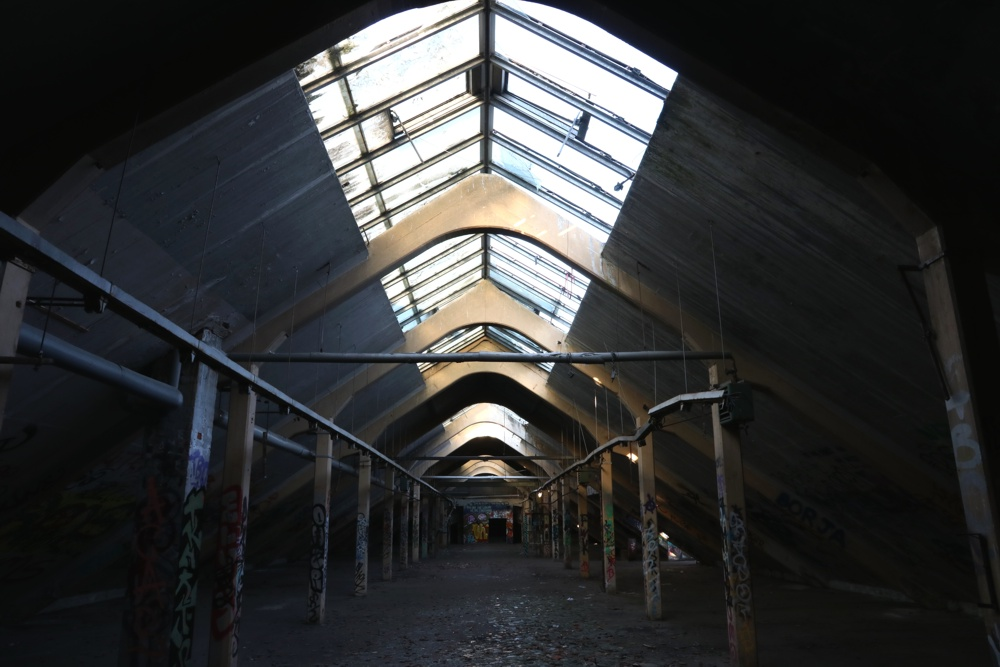 Ein- und Ausblicke vom ehemaligen Polygraph & vormaligen Krause-Werk in Anger-Crottendorf. Foto: L-IZ.de