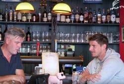 Norman Landgraf und Kai Druschky in der aktuellen Sendung. Foto: Videoscreen Heimspiel TV