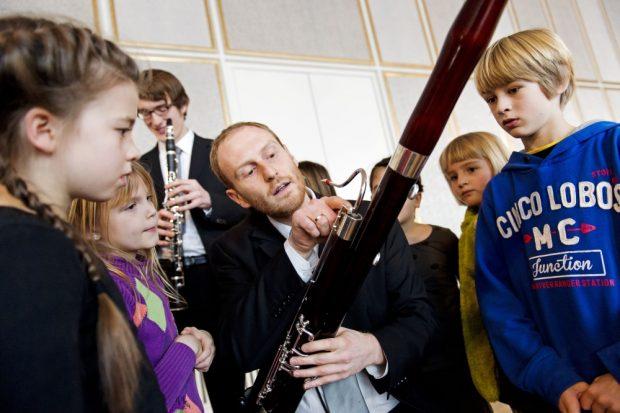 Paddington Bärs erstes Konzert. Foto: Kirsten Nijhof