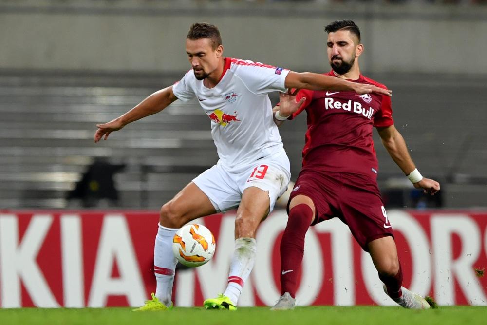 Der Ex-Salzburger Ilsanker bereitete das 0:1 gegen seinen aktuellen Club vor. Foto: GEPA Pictures