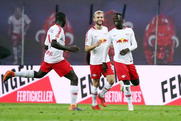 Jubel nach dem 2:0 gegen Stuttgart. Foto: GEPA Pictures
