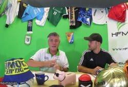 Live und in Farbe: Norman Landgraf (li.) und Martin Hoch. Foto: Screenshot Heimspiel TV