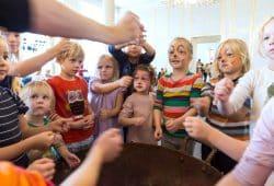 Spielzeiteröffnungsfest in der Oper Leipzig. Foto: Tom Schulze