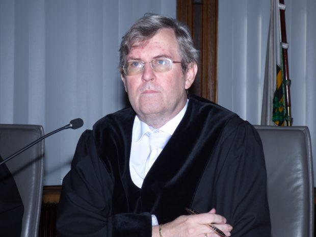 Der Vorsitzende der 1. Strafkammer Hans Jagenlauf. Foto: Lucas Böhme