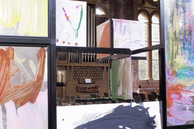 Die Ausstellung in der Heilandskirche. Foto: Christin Schutta