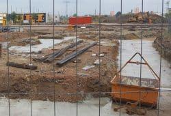 Große Baustelle. Foto: Marko Hofmann