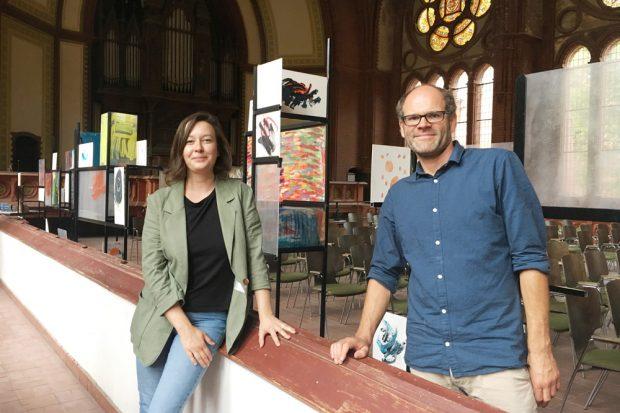 Paula Gehrmann und Paul Ziolkowski. Foto: Christin Schutta