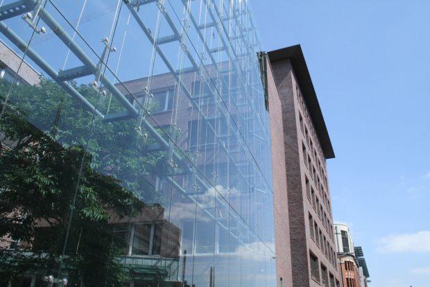 Neuer Verlagssitz: das Haus des Buches. Foto: Ralf Julke
