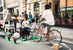 Einmal im Jahr ein gemütliches Picknick auf der Straße. Foto: Ökolöwe - Umweltbund Leipzig e.V.