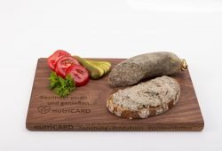 Die herzgesündere Leberwurst ist eines der neuen Lebensmittel, die an der Veterinärmedizinischen Fakultät der Universität Leipzig entwickelt wurden. Foto: Swen Reichhold/Universität Leipzig