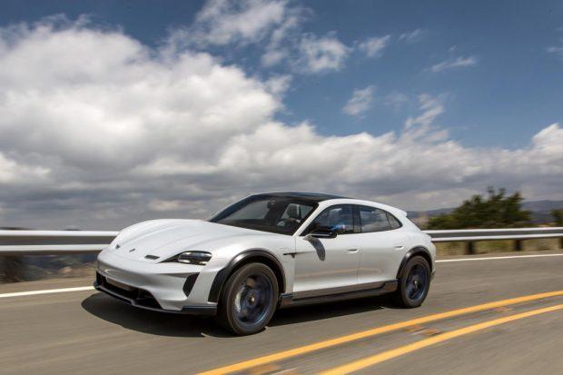 Porsche Mission E Cross Turismo, 2018. Foto: Porsche AG