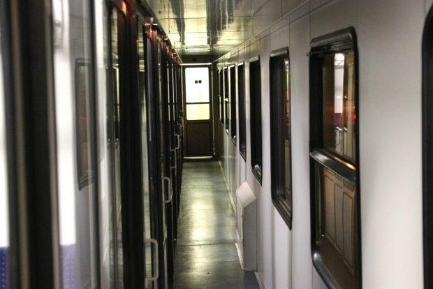 """So sieht ein Zug, gezogen von einer Diesellok, zwischen Leipzig und Chemnitz im Regelbetrieb aus. Für 80 Kilometer braucht man eine Stunde in der """"Metropolregion"""". Foto: Michael Freitag (2017)"""