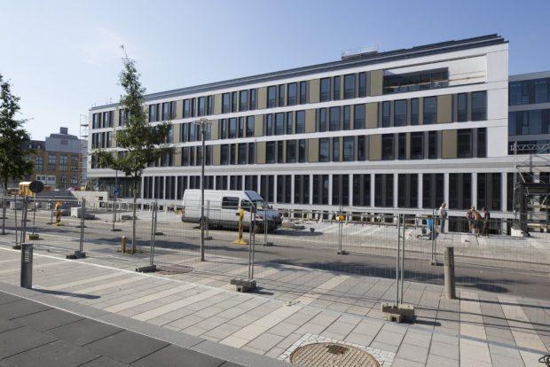 Wird ab sofot bezogen: Klinikneubau Haus 7 am Universitätsklinikum Leipzig. Foto: Stefan Straube/UKL