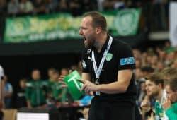 DHfK-Trainer André Haber hatte nicht nur Grund zur Freude. Foto: Jan Kaefer