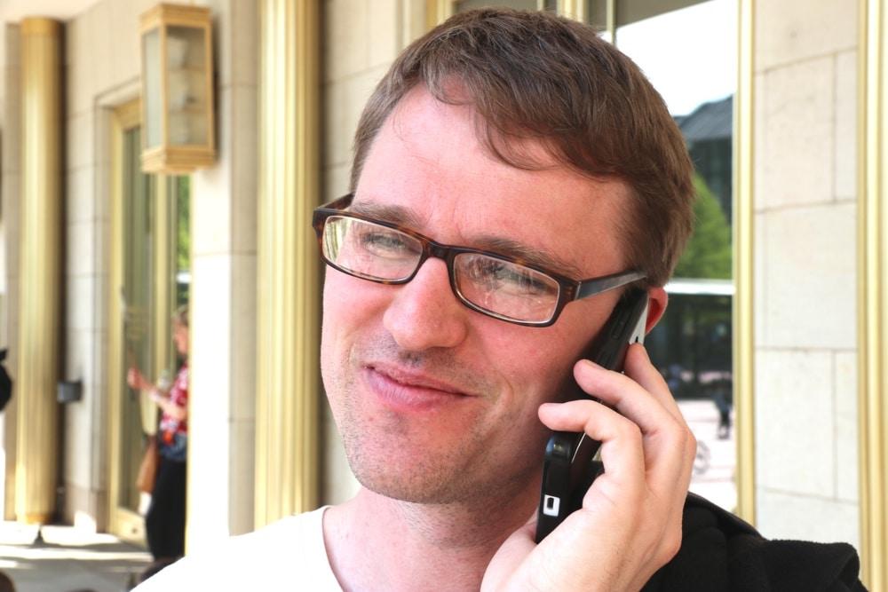 Adam Bednarsky will 2019 für die Linke in den Landtag. Der Aktivposten seiner Partei ist der aktuelle Stadtvorsitzende. Foto: L-IZ.de