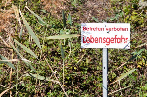 Am Nahleberg gilt nach wie vor: Betreten verboten. Foto: : Michael Billig