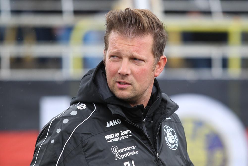 Der neue Lok-Trainer Björn Joppe hat wieder eine klare Linie für die Mannschaft gefunden. Foto: Jan Kaefer