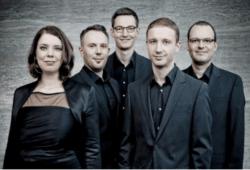 Das Calmus Ensemble. Promofoto