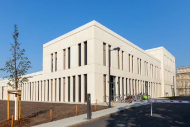 Das neue Bildungswissenschaftliche Zentrum auf dem Campus Jahnallee Foto: Swen Reichhold/Universität Leipzig