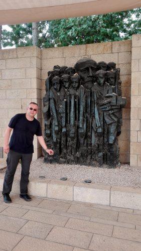 Das Denkmal für Janusz Korczak. Foto: Cornelia Gazawi