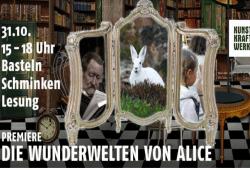 Die Wunderwelten von Alice. Quelle: Kunstkraftwerk Leipzig
