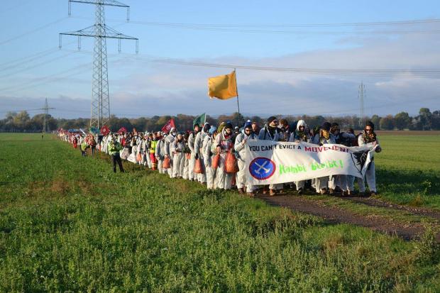 Ende Gelände Demo am 27.10.2018. Quelle: Ende Gelände