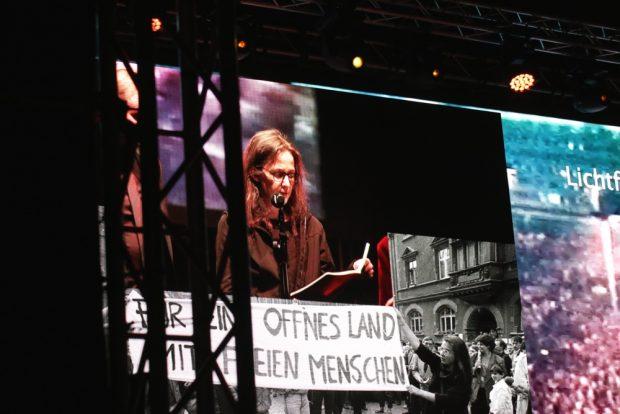 Für ein offenes Land mit freien Menschen. Gesine Oltmanns. Foto: L-IZ.de