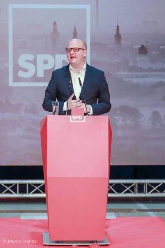 Henning Homann wurde zum neuen Generalsekretär der SPD Sachsen gewählt. Foto: Marco Arenas