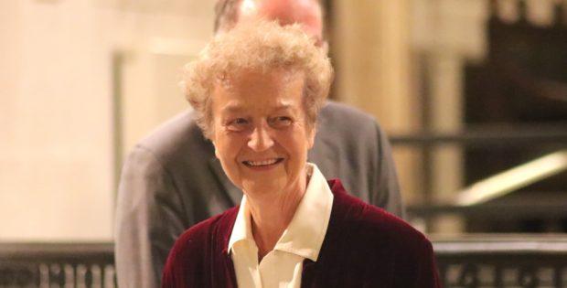 Herta Däubler-Gmelin am 9. Oktober 2018 in der Nikolaikirche Leipzig. Foto: L-IZ.de