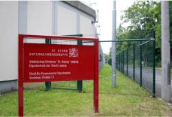 Klinik für forensische Psychiatrie St. Georg. Foto: Alexander Böhm