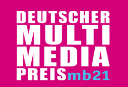 Logo Multimediapreis, Quelle:Deutscher Multimediapreis mb21