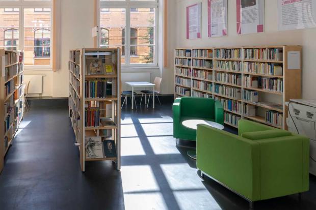 Lyrikbibliothek, Foto: Torsten Hanke