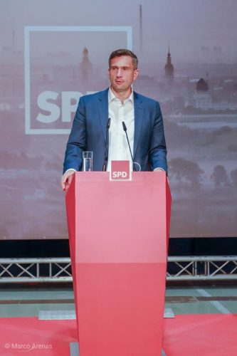 SPD-Landesvorsitzender Martin Dulig. Foto: Marco Arenas