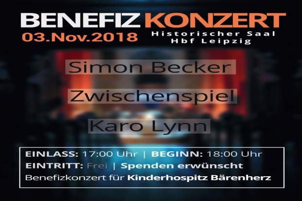 Plakat Benefizkonzert, Quelle: Deutsche Bahn