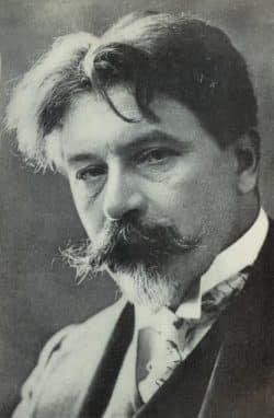 Portrait von Gewandhauskapellmeister Arthur Nikisch aus dem Jahr 1912. Foto: gemeinfrei