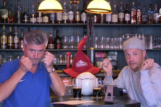 Norman Landgraf (li.) und Martin Hoch drücken allen Leipziger Sportvereinen die Daumen. Foto: Screenshot Sportpunkt