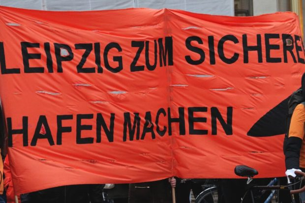 Sicherer Hafen Leipzig - die Einlösung eines Versprechens. Foto: L-IZ.de
