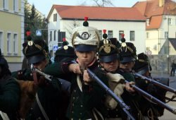 Soldaten am Markt, Foto: Falk Thoralf-Günther