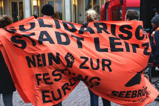 Solidarisches Leipzig? Eine Frage an die Stadtpolitik. Foto: L-IZ.de