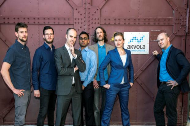 Team der akvola Technologies GmbH aus Berlin (© Jacek Ruta)