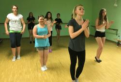 Teenie-Danceworcshop. Quelle: Anker Leipzig
