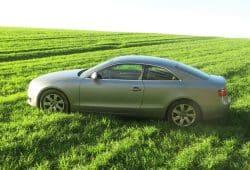 Der bei Görlitz gefundene Audi A 5. Foto: Polizeidirektion Leipzig