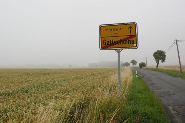 Gleich hinter Leipzig beginnt die Welt der ratlosen Dörfer. Foto: Marko Hofmann
