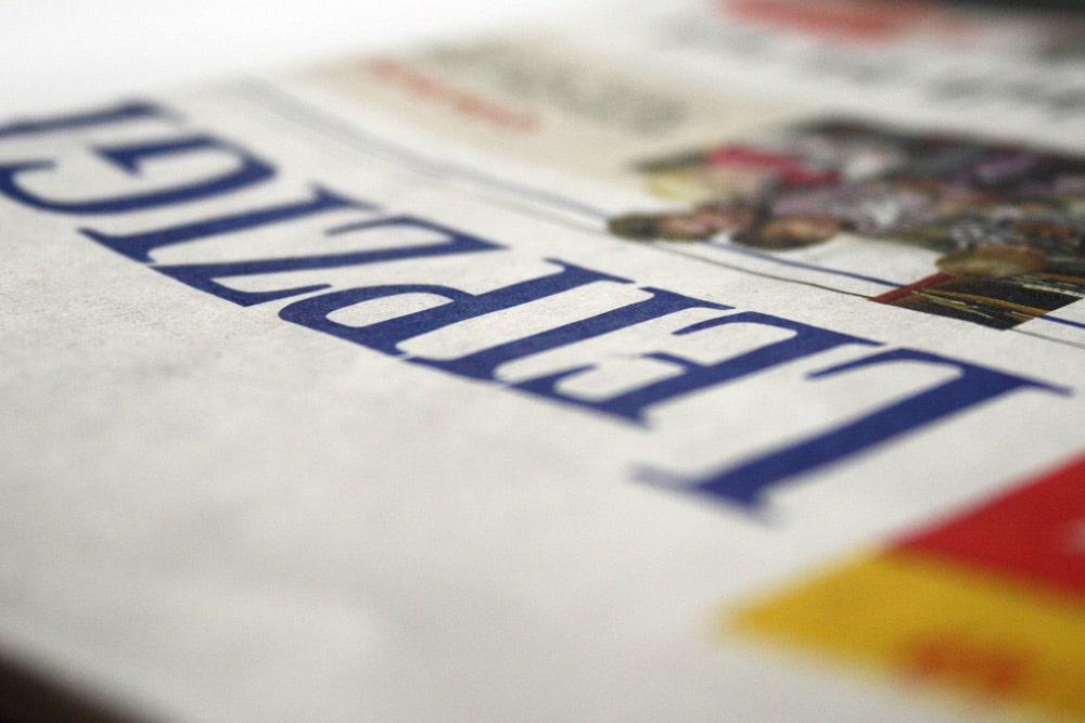 Wird ab November in Halle gedruckt: die LVZ. Foto: Ralf Julke