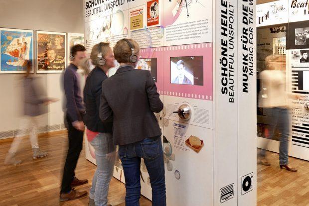"""Ausstellung """"Oh yeah!"""" Foto: Martin Luther, Stadtgeschichtliches Museum Leipzig"""