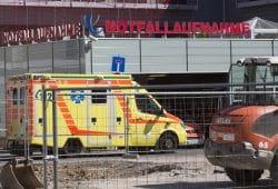 Im Bereich der Interimszufahrt für Rettungsdienste an der Paul-List-Straße sind in den kommenden Tagen Baumaßnahmen notwendig. Foto: Stefan Straube / UKL
