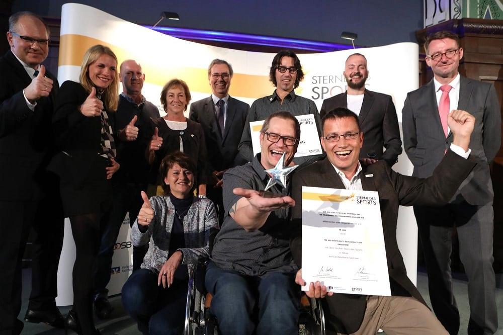 Sterne des Sports in Silber, Preisverleihung 2018 für das LandSachsen, in Dresden, Foto: Genossenschaftsverband
