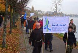 Die Klimapilger unterwegs. Foto: 3. Ökumenischer Pilgerweg für Klimagerechtigkeit