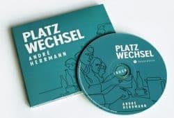 André Herrmann: Platzwechsel. Hörbuch. Foto: Ralf Julke