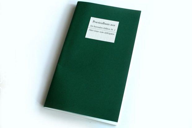 Poesiealbum neu: Peter Gosse zum Achtzigsten. Foto: Ralf Julke